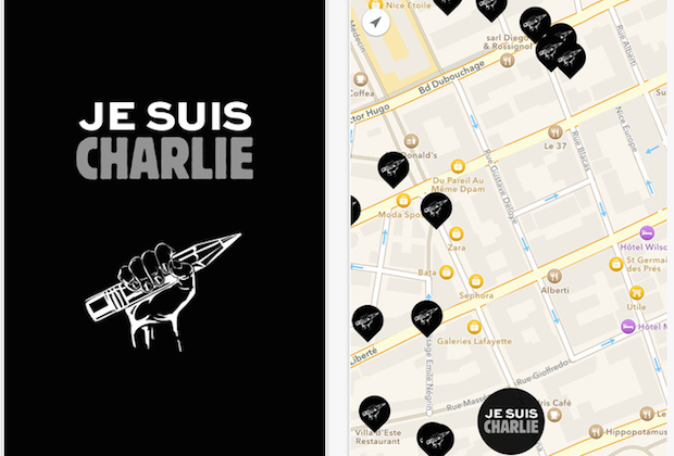 Je Suis Charlie app gets one-hour approval following Cook email