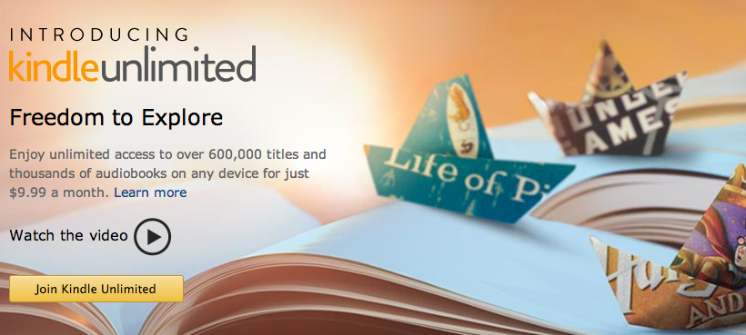 Kindle Unlimited subscribers buy more books, says Nielsen