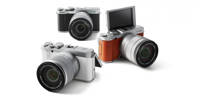 Fujifilm X-A2 interchangeable lens camera touts premium selfies