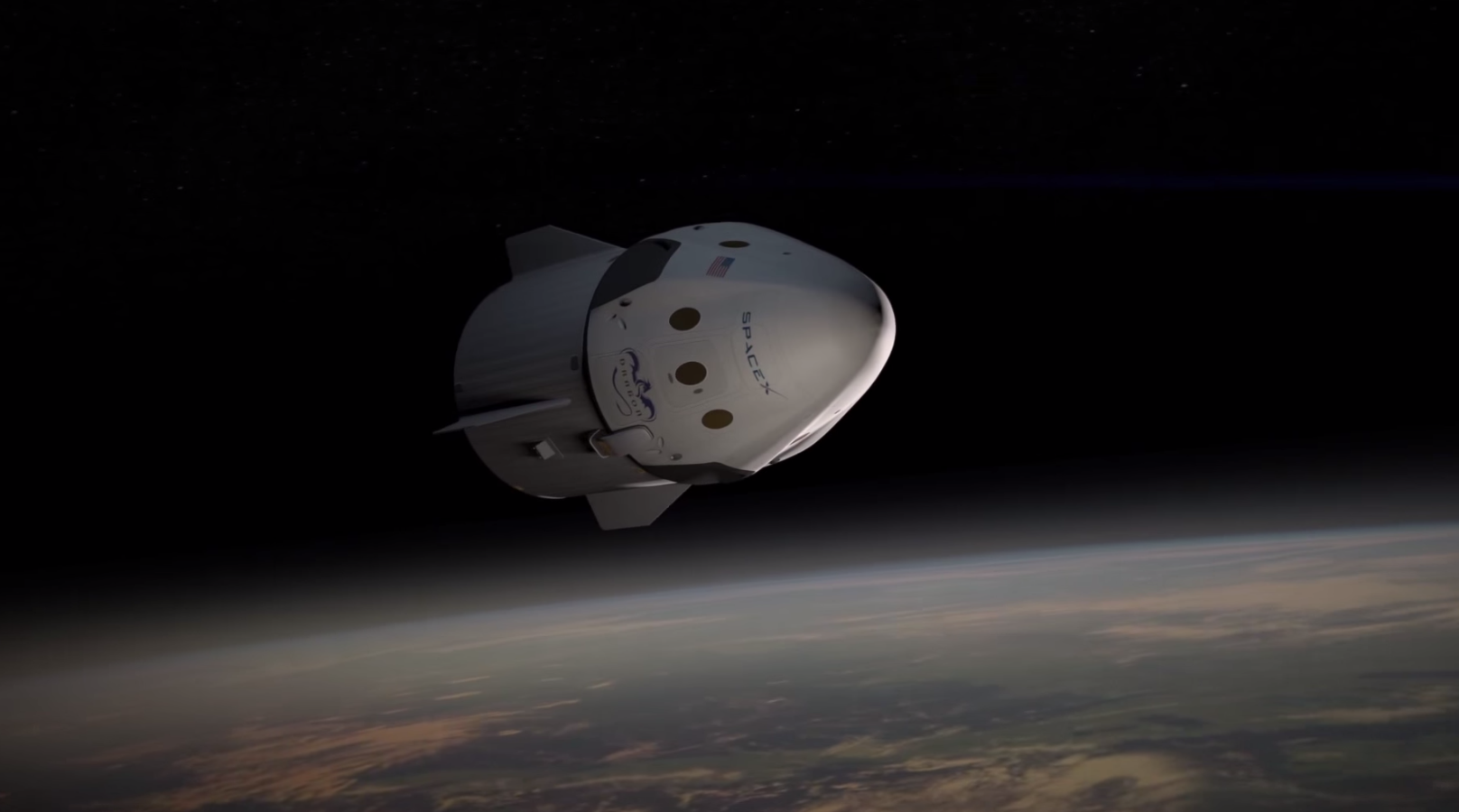 dragon spacecraft video - 945×680