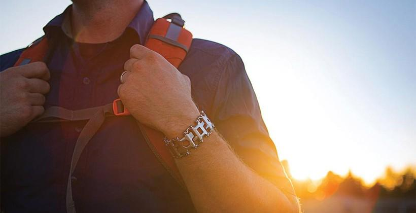 Leatherman Tread wearable multitool has 25 features