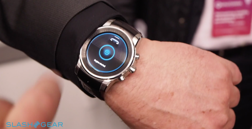 This is Audi's custom car-controlling LG smartwatch