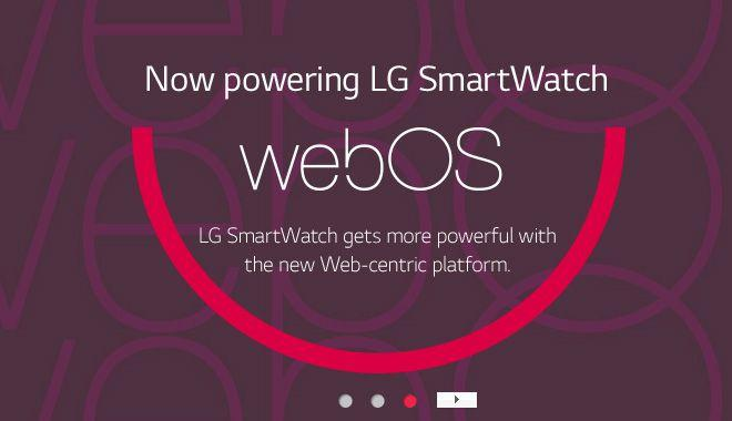LG tipped to launch webOS smartwatches in early 2016