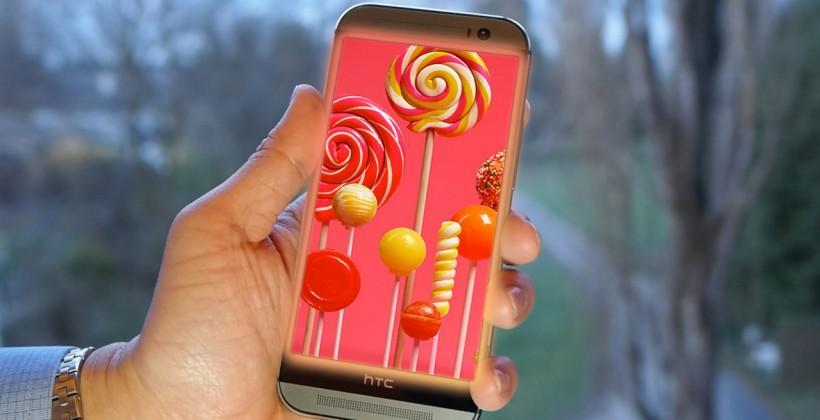 HTC One M8 Lollipop update released in Europe