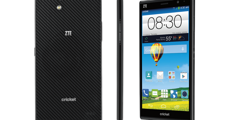 ZTE Grand X Max+ with 4G LTE to hit Cricket on January 9