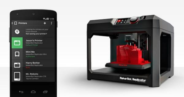 MakerBot releases Android app to control 3D printers