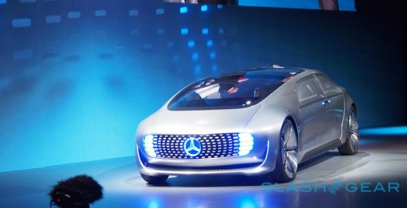 This is Mercedes-Benz's new self-driving car
