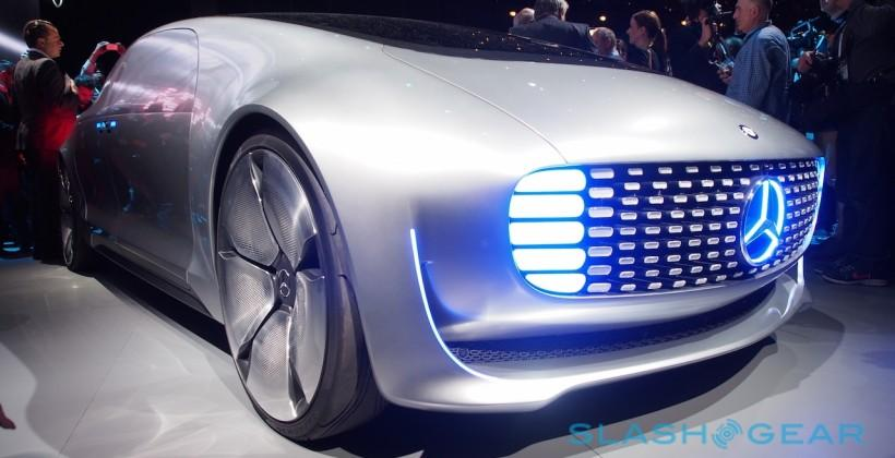 Mercedes-Benz F 015 self-driving car in-depth: AI & lasers