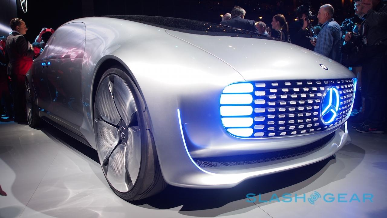 Mercedes Benz F 015 Self Driving Car In Depth Ai Amp Lasers