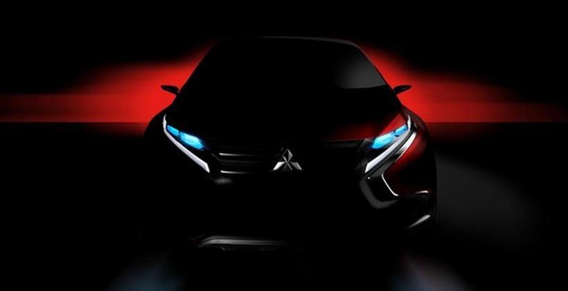 Mitsubishi teases new hybrid SUV for Geneva unveil