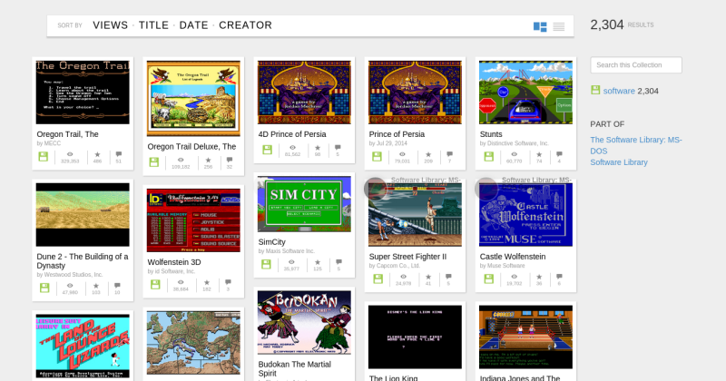 Over 2,000 MS-DOS games now available in your browser