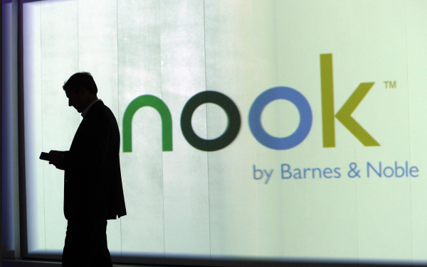 Nook sales down 55%, Barnes & Noble feeling the effect