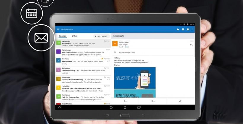 Microsoft Office for Android leaves preview as Outlook enters