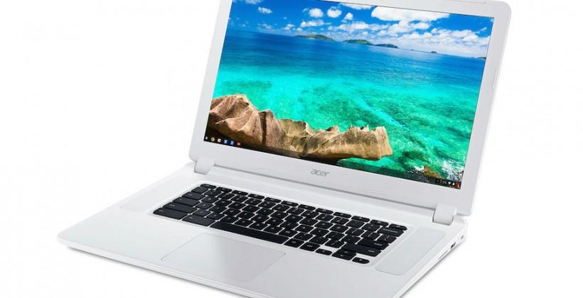 Acer Chromebook 15: world's first 15.6in Chromebook