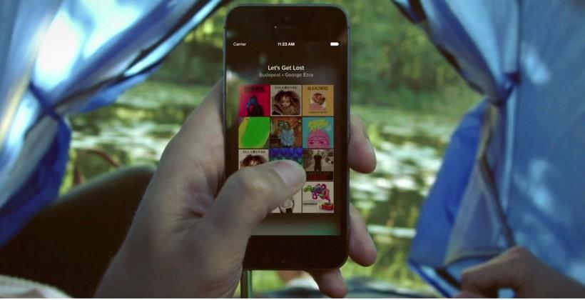Spotify Touch Preview reveals new way to discover music