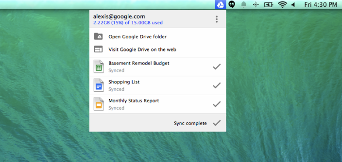 Google Drive update for Mac, PC brings new look, features