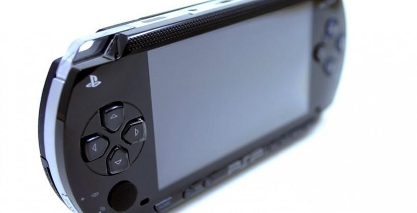 Sony PSP receives random firmware update
