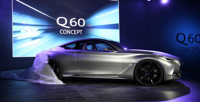 Infiniti Q60 Concept Details Offered At Detroit Motor Show