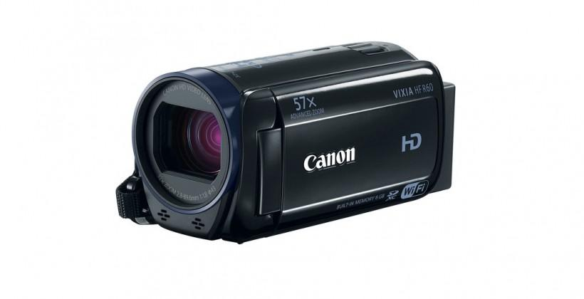 Canon VIXIA HF R-Series camcorders arrive in March