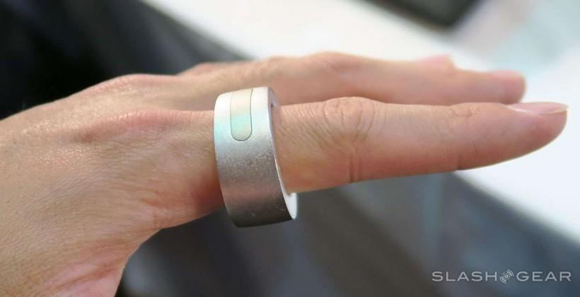 Ring wearable gesture device hands-on