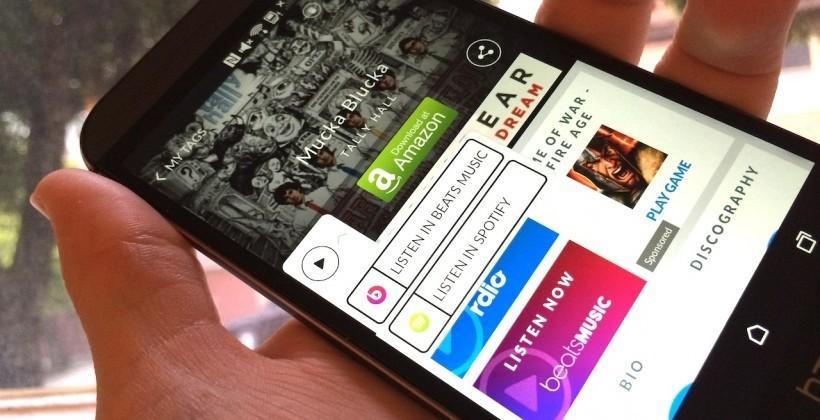 Shazam, Gimbal partner for location-based music suggestions