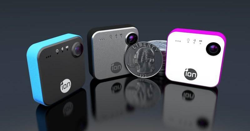 iON SnapCam wearable camera: 8MP and live streaming