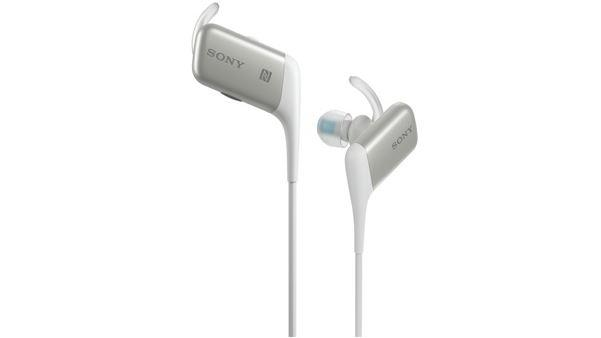 Sony MDR-AS600BT earbuds have both NFC and Bluetooth