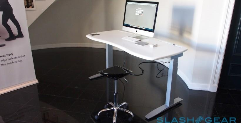 Stir Kinetic Desk M1 hands-on: Even smarter standing