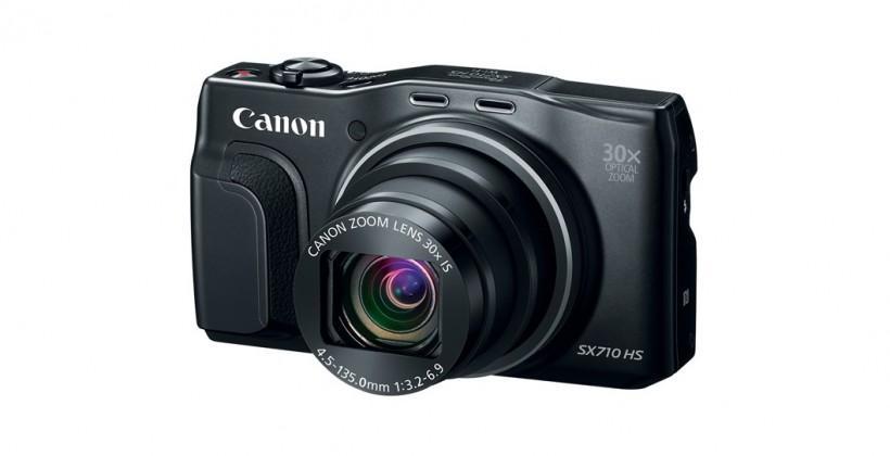 Canon PowerShot line scores five new cameras