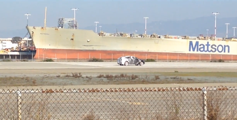 Tesla caught testing, but is this Model X or Model 3?