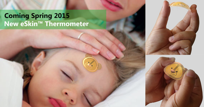 Smart health for kids: eSkin Thermometer, Smart Pacifier