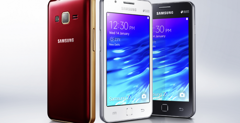 Samsung Z1 smartphone: powered by Tizen, destined for India