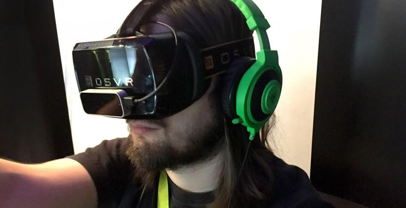 Razer OSVR headset hands-on: a platform, not a competitor
