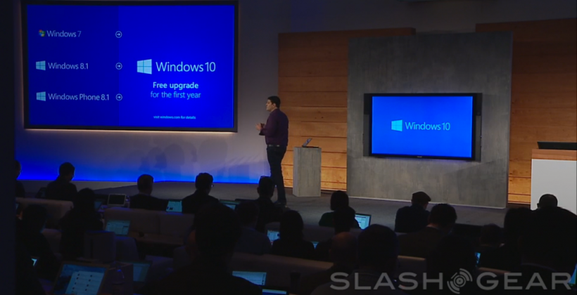 Windows 10 update free (for the first year)
