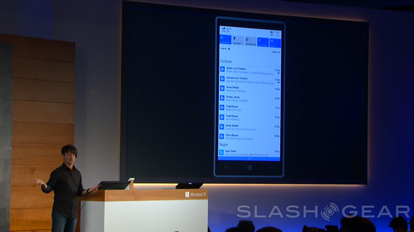 Windows 10 for phones gets better Action Center, PC integration