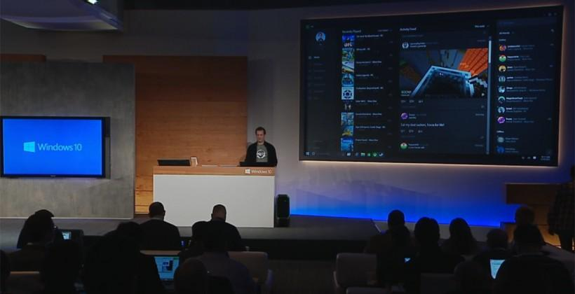 Windows 10 Xbox One desktop app demoed with Steam