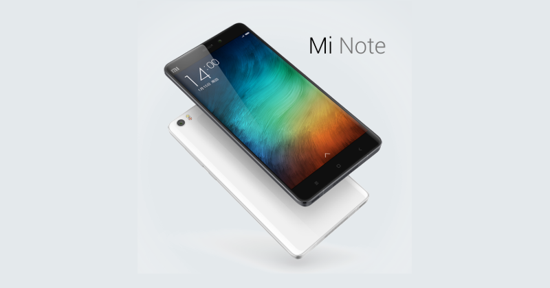 Xiaomi Mi Note crams all the buzzwords inside a phablet