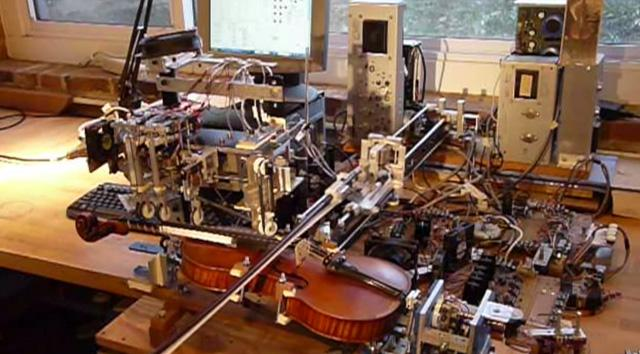 This robot can play the violin, but can it dance?