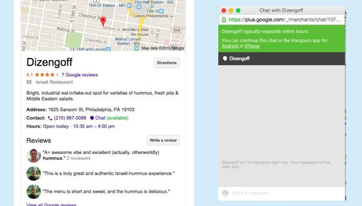 Google tests a new way to chat with businesses