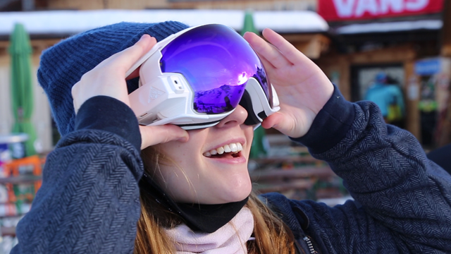 RideOn goggles let you ski in AR
