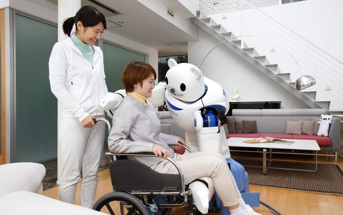 Robear robot to take care of Japan's elderly population