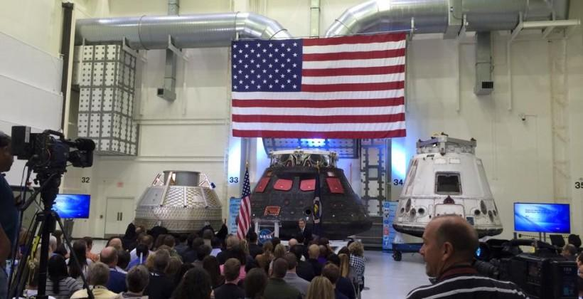 NASA White House budget up (and down)