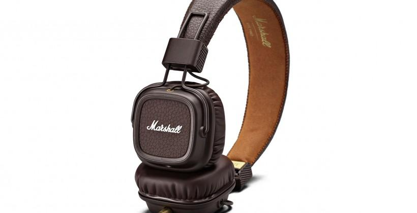 Marshall Major II returns in Brown, Pitch Black, and White