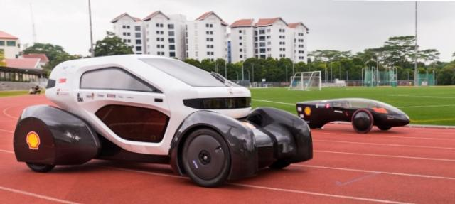 Singapore students print 1st 3D Concept Car in Asia