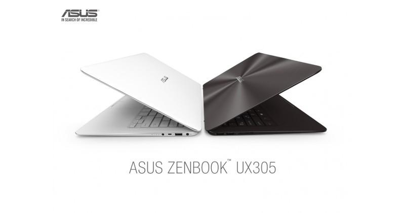ASUS' ultra slim ZenBook UX305 now available for purchase