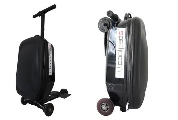 Coolpeds Briefcase Electric Scooter is your new carry-on bag