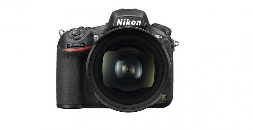 Nikon D810A DSLR is designed for astrophotographers