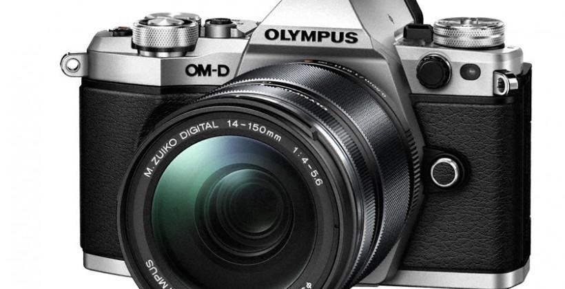 Olympus E-M5 Mark II adds 5-axis OIS and 40MP mode