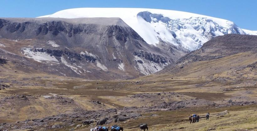 400-year old pollution found in Andean ice cap