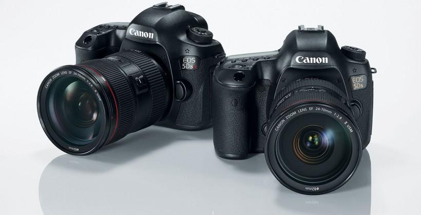 Canon 5DS / SR official with 50-megapixel sensor